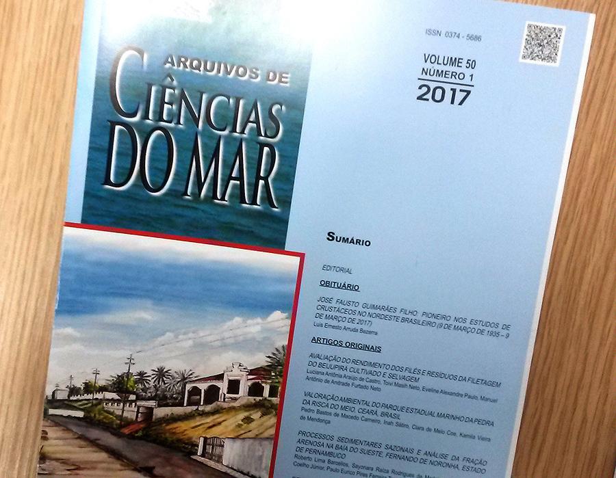 Revista Arquivos de Ciências do Mar, v.1-n.50-2017
