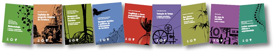 Livros da coleção da pós-graduação 2013