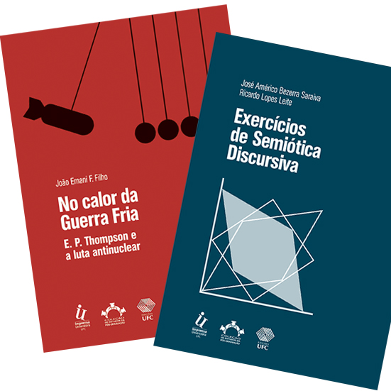 """Livros 4ª. coleção """"Estudos da Pós-Graduação da Universidade Federal do Ceará"""