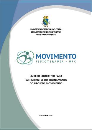 Livreto do Projeto Movimento do Departamento de Fisioterapia da Universidade Federal do Ceará