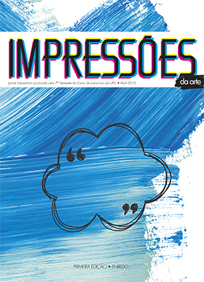 Jornal Impressões da arte, primeira edição 2018