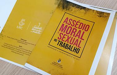 Cartilha sobre assédio moral e sexual na UFC